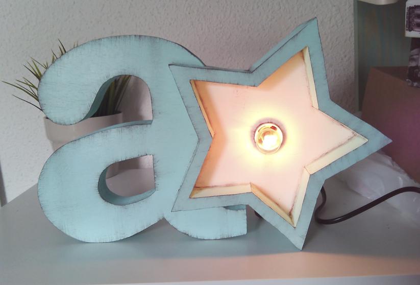 Lamparita decorativa personalizable