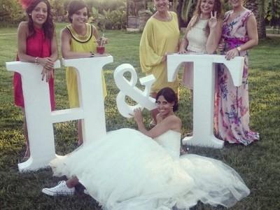 Iniciales para bodas
