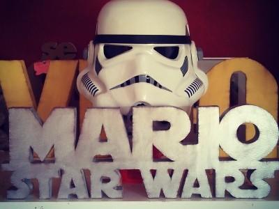 Nombre decorativo fan star wars
