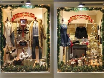 Rótulo decoración navidad