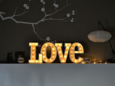 Love Decorativo Luminoso
