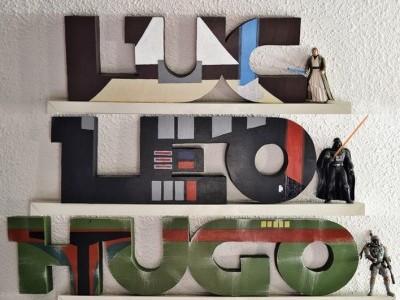 Nombres personalizados Star Wars