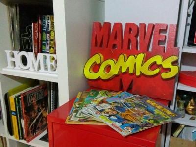 Logo clásico marvel comics