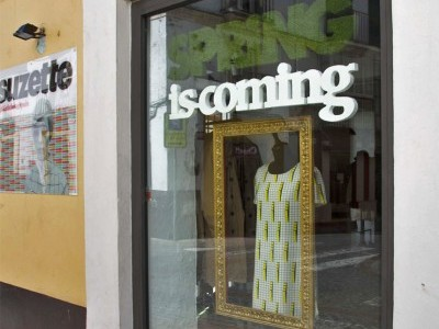 Escaparate Suzette Spring is coming