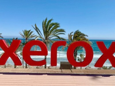 Logo XEROX evento corporativo