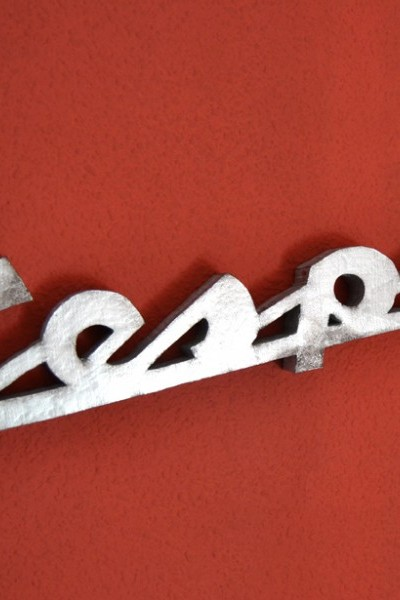 Logo Vespa retro