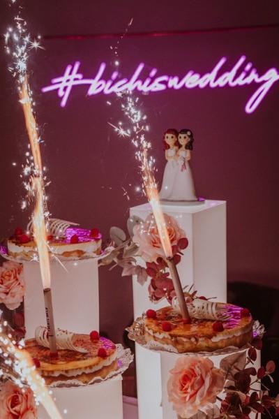 Rótulo de Neón Led para boda #bichiswedding